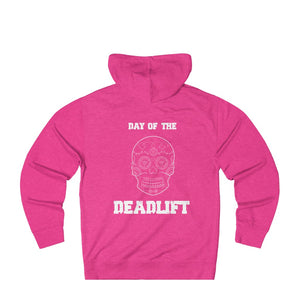 Unisex French Terry Hoodie: day of the deadlift
