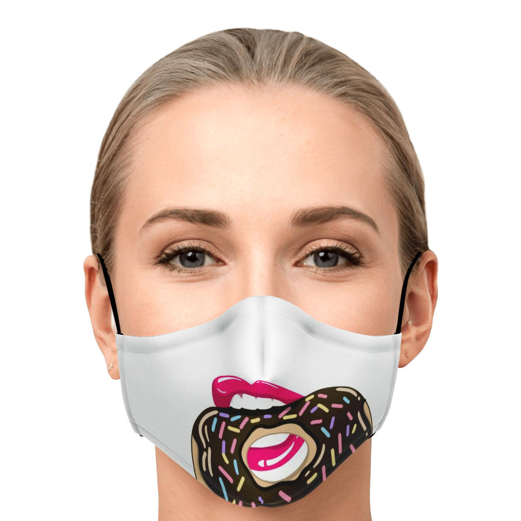 Face cover: donut