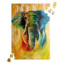 Load image into Gallery viewer, Puzzle: elephant
