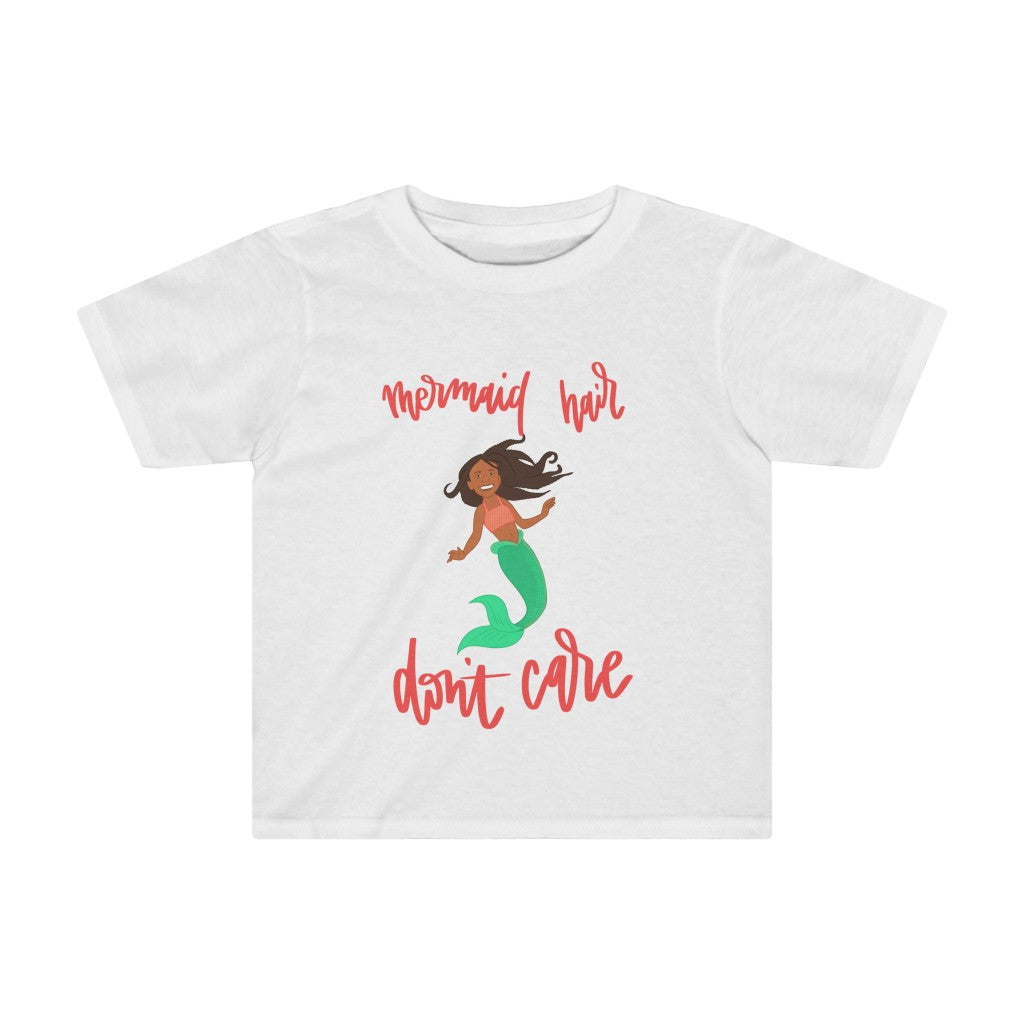 Kids Tee: mermaid hair