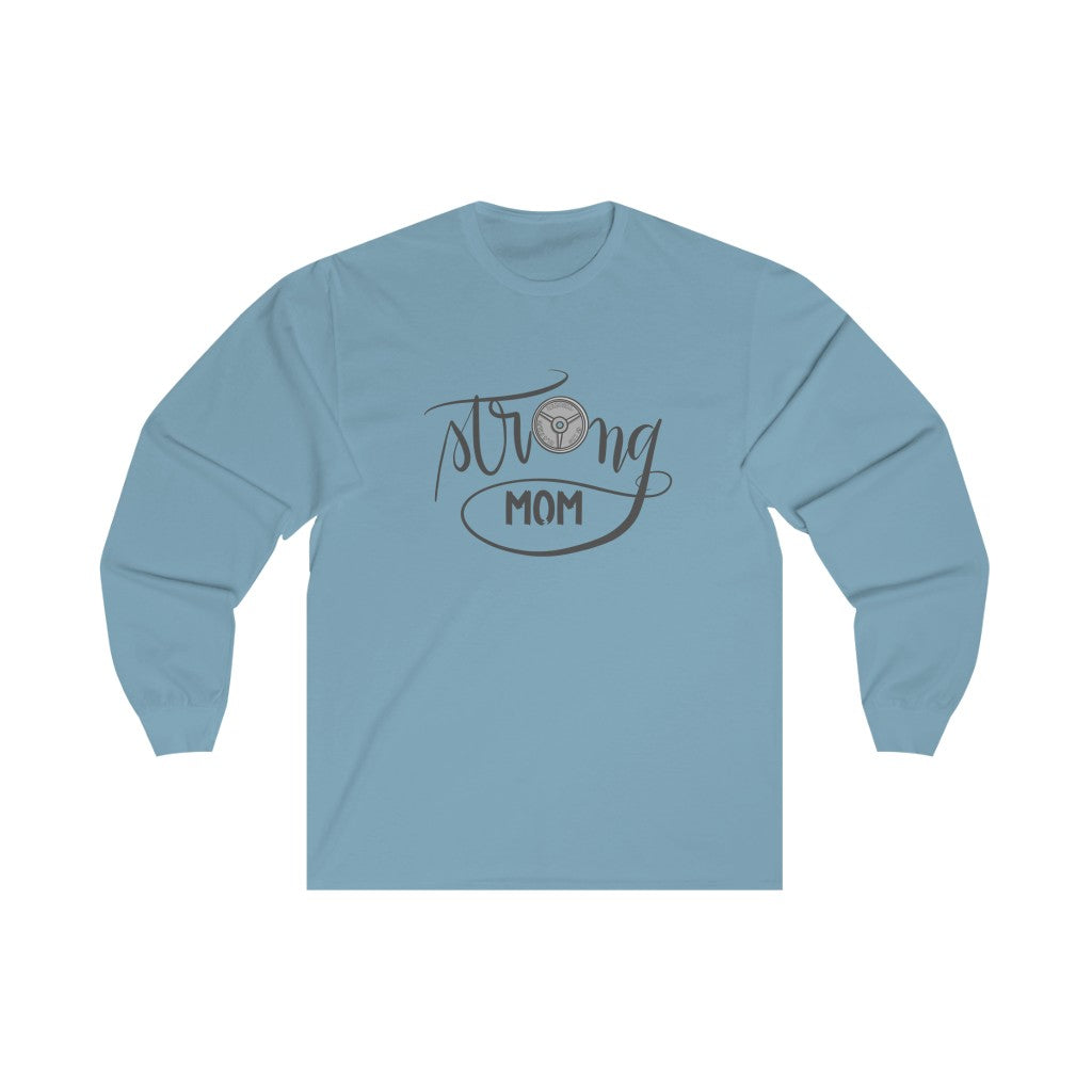Unisex Long Sleeve Tee: strong like mom