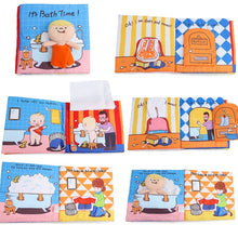 Load image into Gallery viewer, Baby Book Soft Cloth Books Toddler Newborn Early Learning Develop Cognize Reading Puzzle Book Toys Infant Quiet Book For Kids