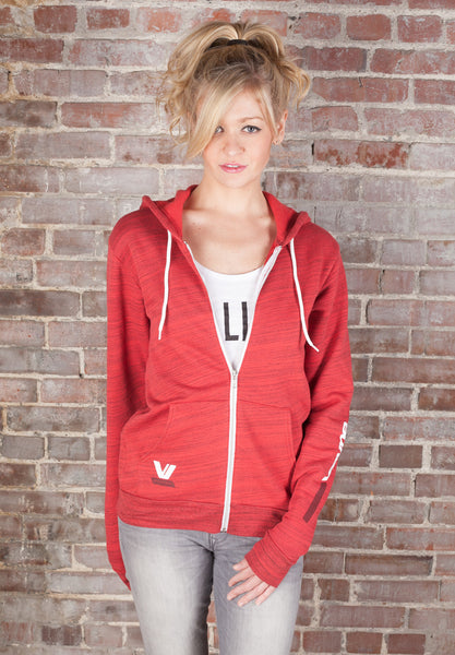Sporty Full Zip Hoodie Sweatshirt - Vayne Lifestyle  - 1