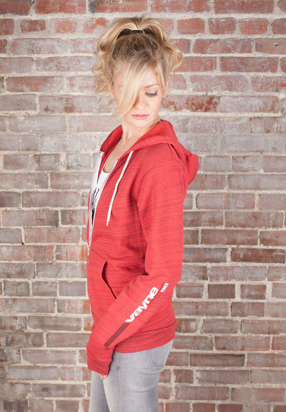 Sporty Full Zip Hoodie Sweatshirt - Vayne Lifestyle  - 4
