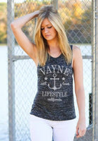 Anchor Muscle Tank - Vayne Lifestyle  - 1
