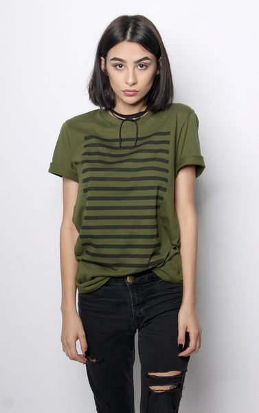 Modern Striped Tee - Vayne Lifestyle  - 1
