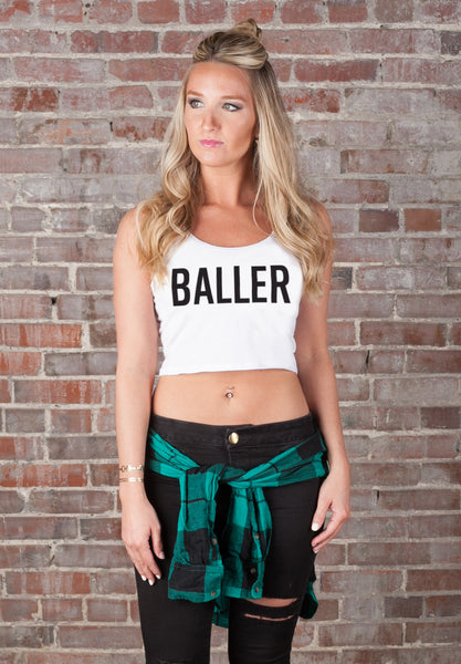 Baller Crop Top - Vayne Lifestyle  - 1
