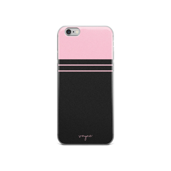 Pink Colorblock Phone Case