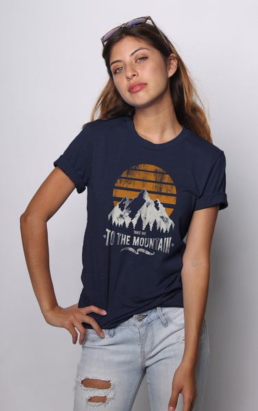 Take Me To The Mountains Tee - Vayne Lifestyle