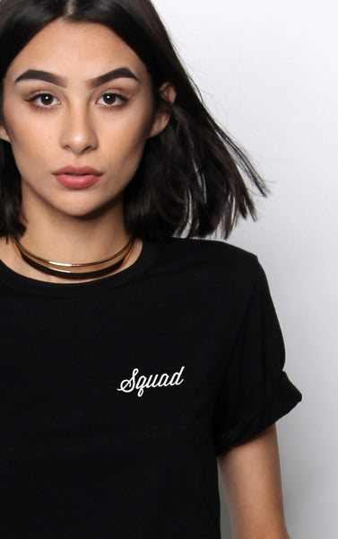 Bride Squad Embroidery Tee