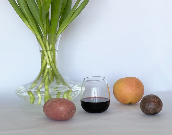 STILL LIFE AT HOME - ORGANIC GLASSWARE