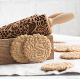 Embossed Rolling Pin - Green Cookware Shop