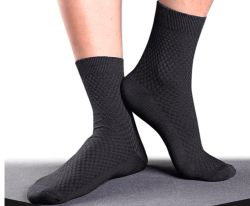 Healthy Sock Shop Bamboo Socks Bamboo Fiber Socks, Black. The Ultimate In The Sock World