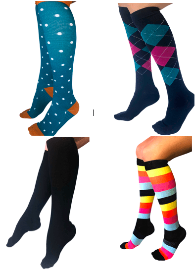 Healthy Sock Shop Compression Socks Compression Socks - 4 Pair