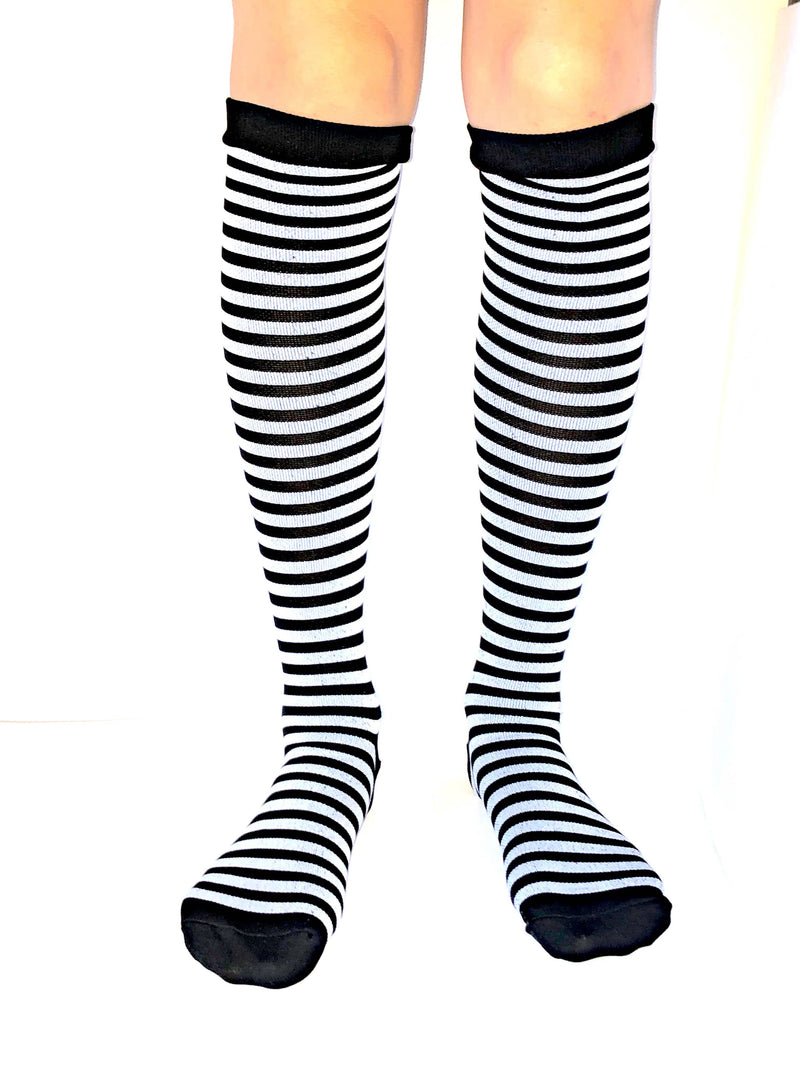 Healthy Sock Shop Compression Socks Compression Socks - Black & Grey Stripe