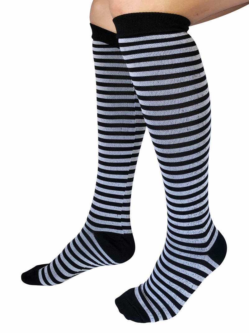 Healthy Sock Shop Compression Socks Compression Socks - Black, Grey, White, 7 x Pair