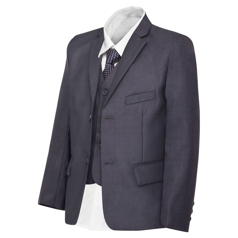 Boys' Blue Steel Grey Jacket