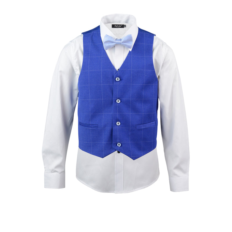 Boys Kingston Blue Vest