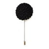 Bloom Lapel Pin - Black