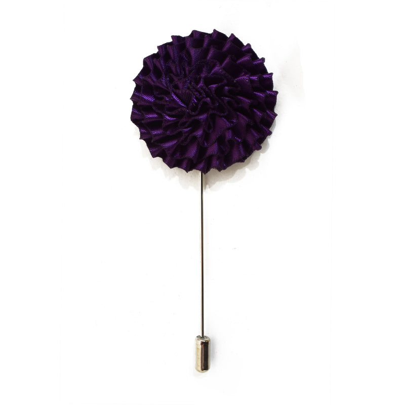 Bloom Lapel Pin - Dark Purple
