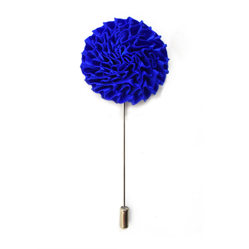 Bloom Lapel Pin - Electric Blue