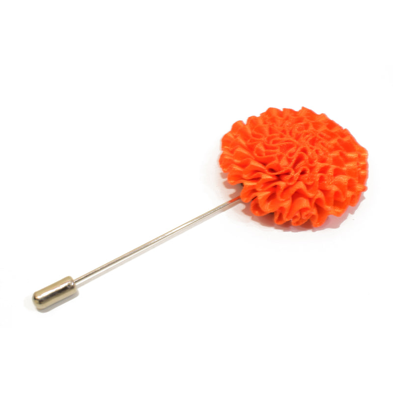 Bloom Lapel Pin - Orange