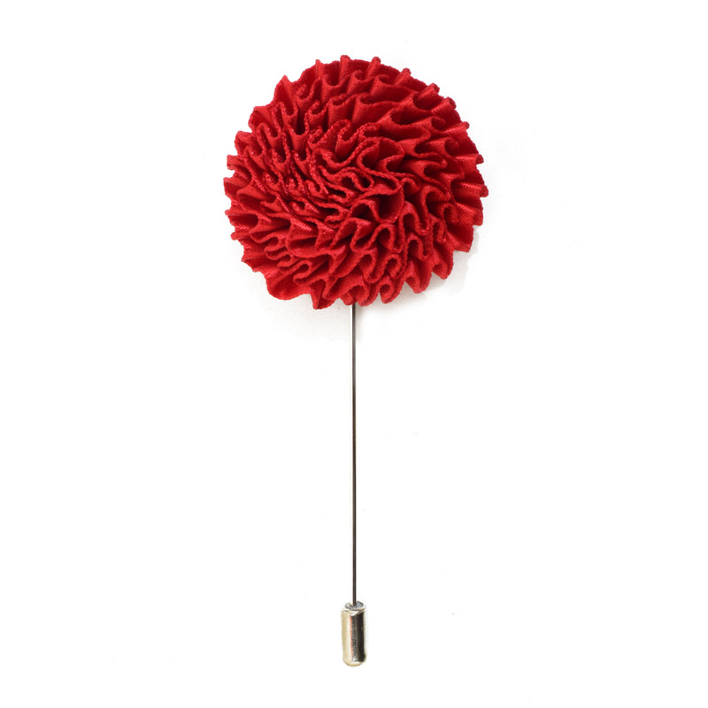 Bloom Lapel Pin - Red