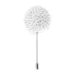 Bloom Lapel Pin - White