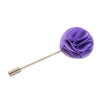 Blossom Lapel Pin - Purple
