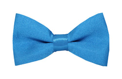 Boys Bow Tie - Aqua Blue