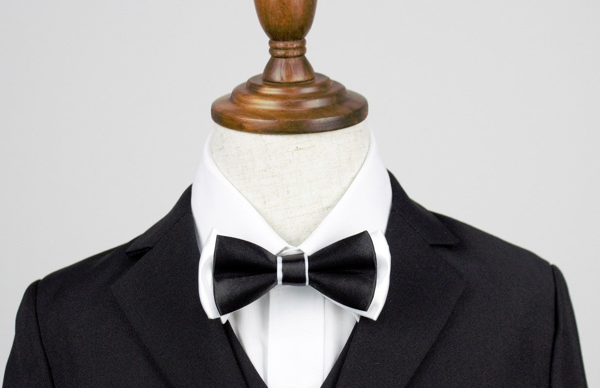 Bowtie - Black and white