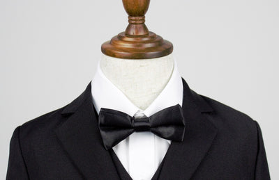 Boys Bow Tie - Black