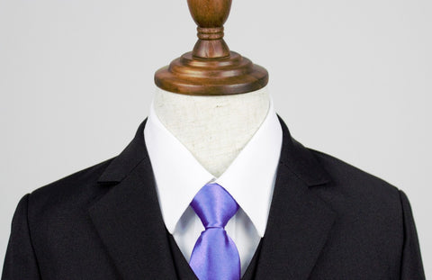 Baby + Boy Ties - Purple