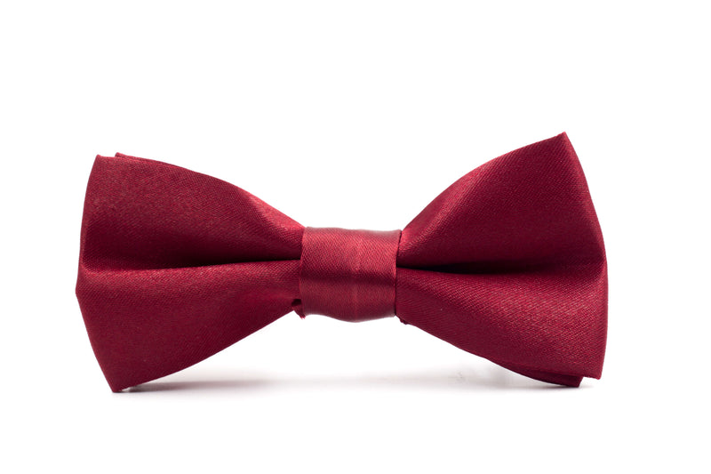 Boys Bow Tie - Burgundy