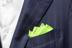 Pocket Square - Lime Green