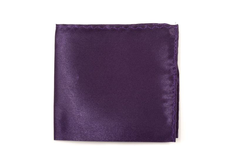 Pocket Square - Eggplant Purple