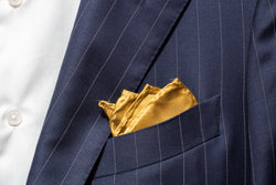 Pocket Square - Gold