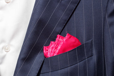 Pocket Square - Hot Pink