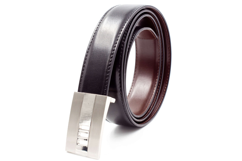 Mens Leather Belt - Flat Buckle 2.0