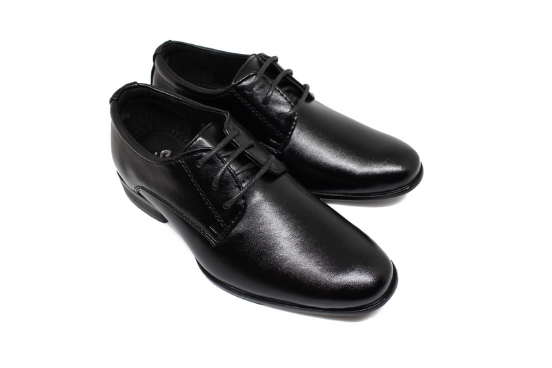 Berlin Derby Shoes - Matte Black