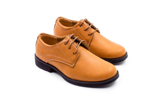 Stockholm Derby Shoes - Tan