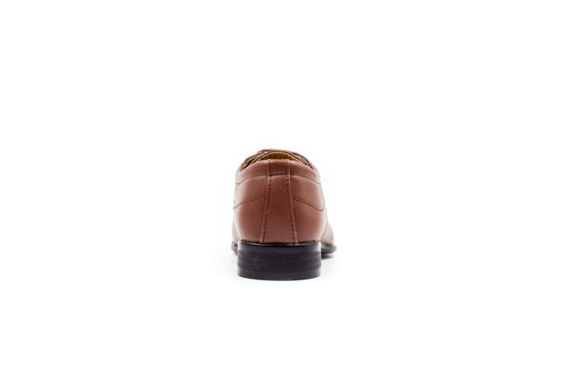 Sydney Derby Shoes - Brown