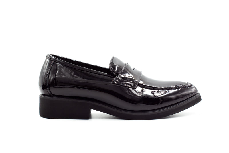 Oslo Loafers - Patent Black