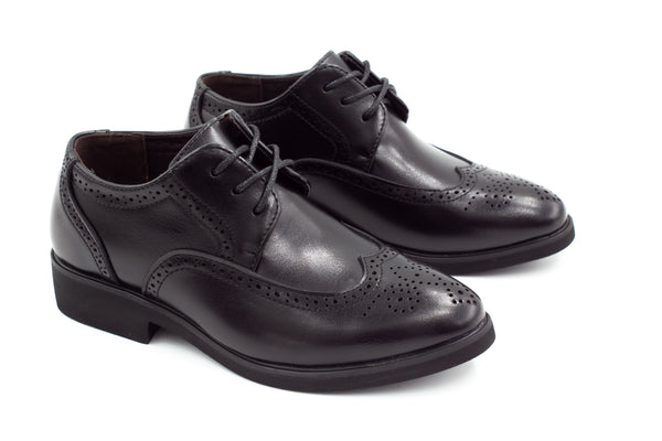 Dublin Brogue Shoes - Black