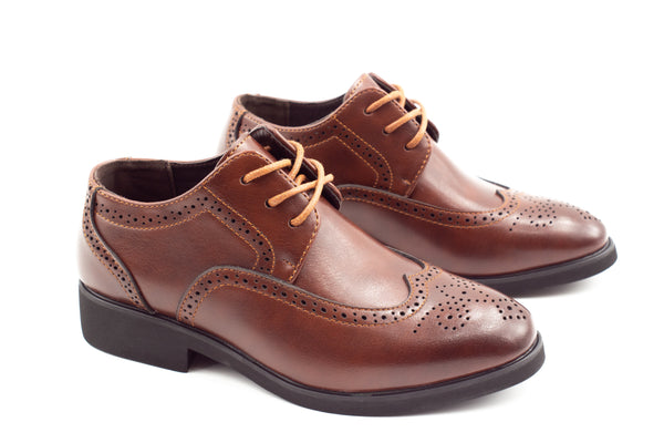 Dublin Brogue Shoes - Brown