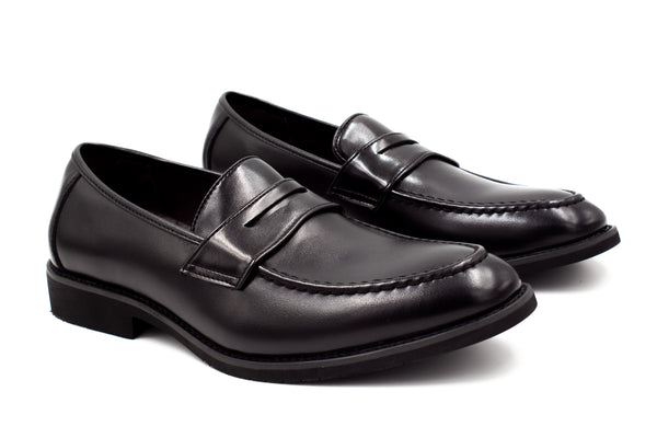 Mens Oslo Loafers - Matte Black