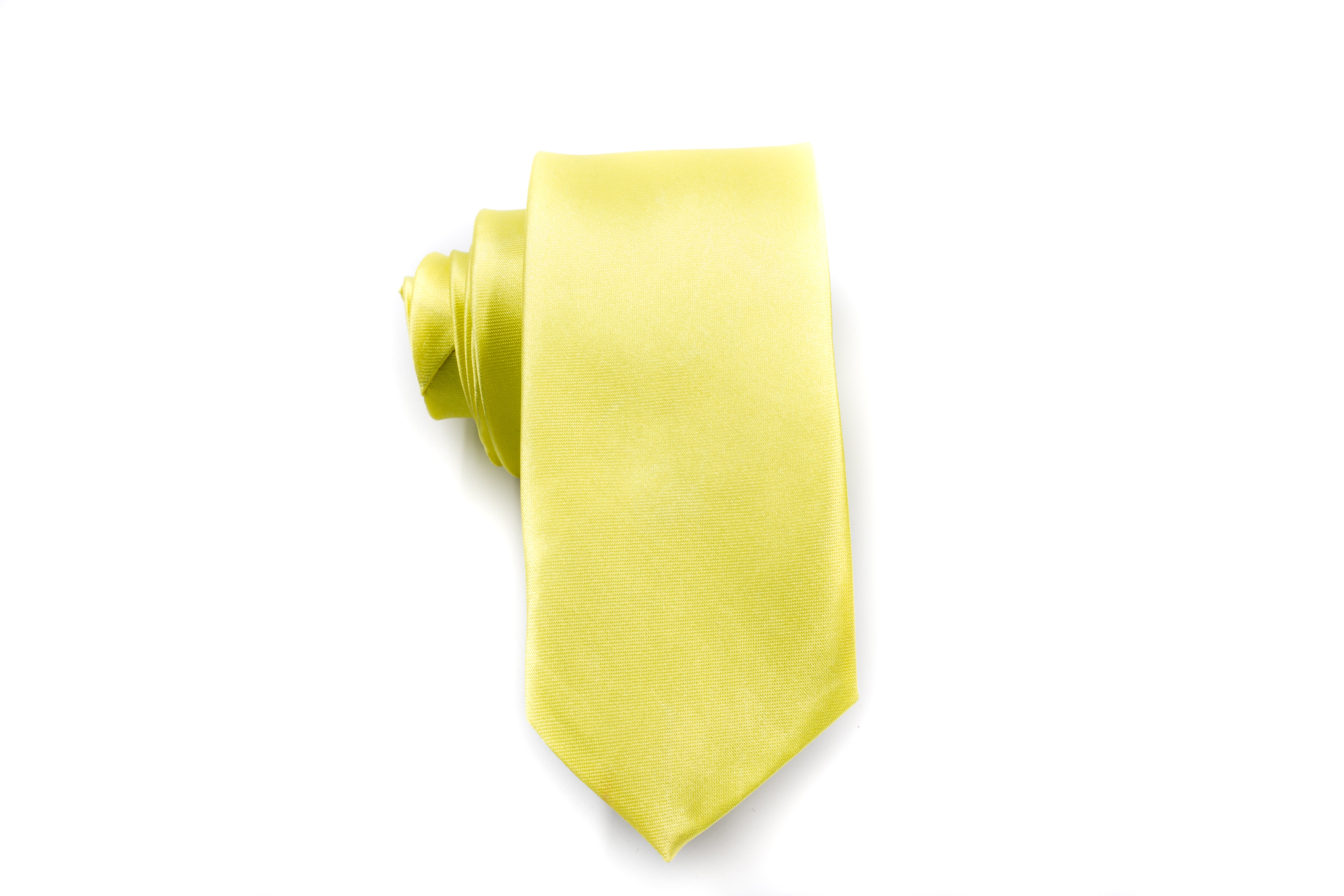 Men Ties - Yellow