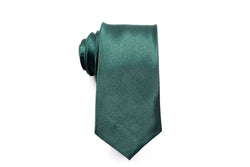 Men Ties - Emerald Green