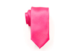 Men Ties - Hot Pink