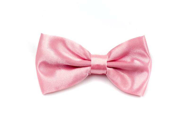 Mens Bow Tie - Rose Pink
